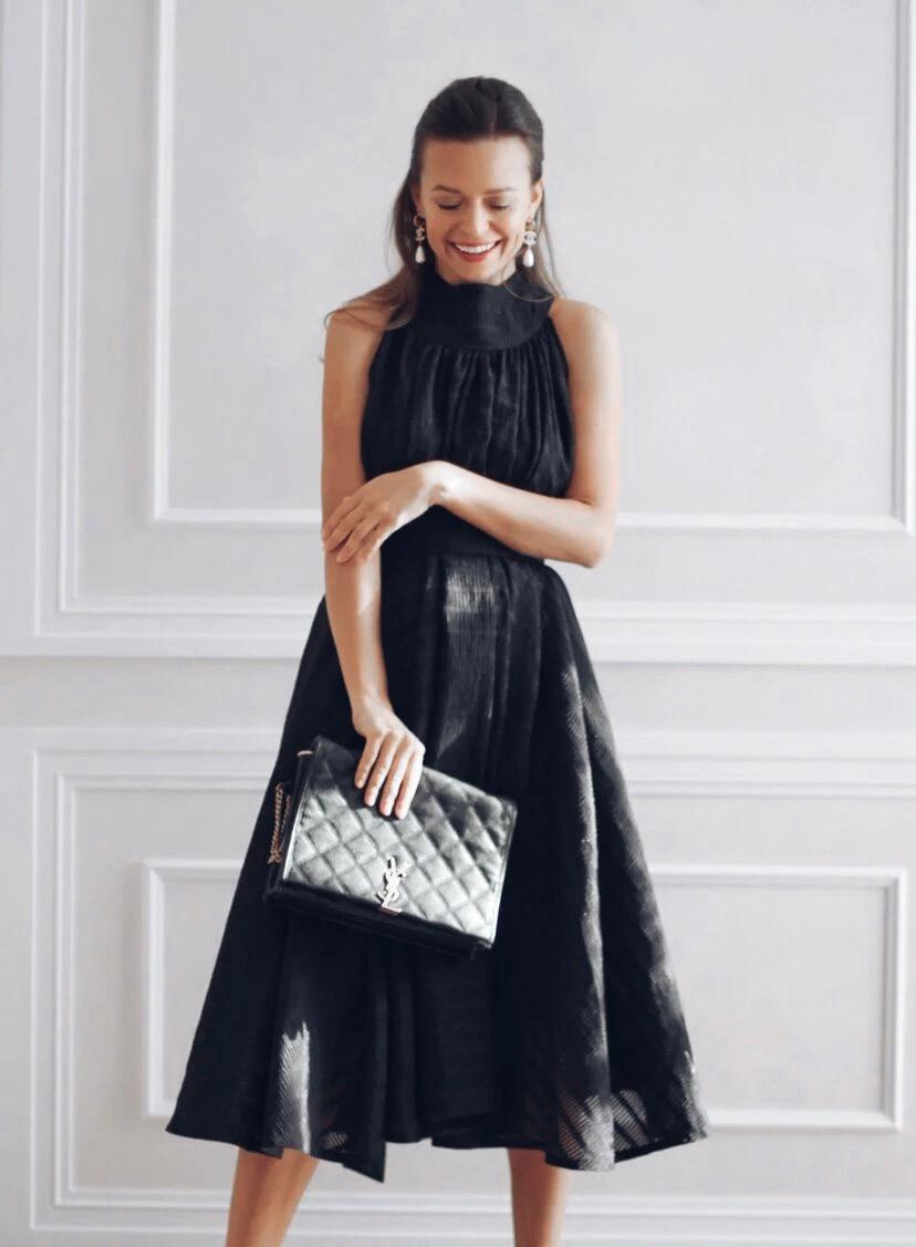 Платье «Timeless» — Вне времени [черное]