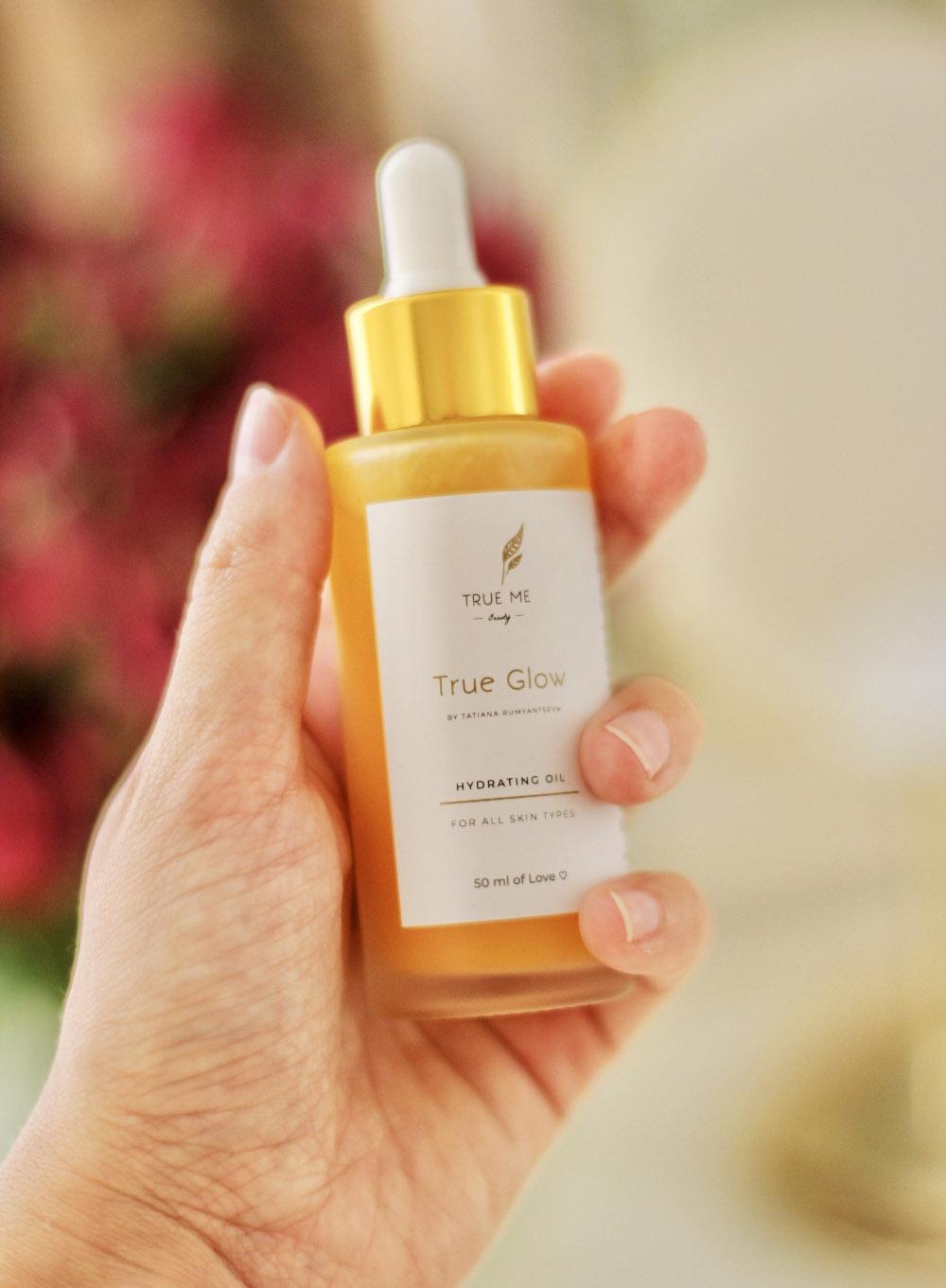 Увлажняющее масло для лица TRue Glow 50 ml