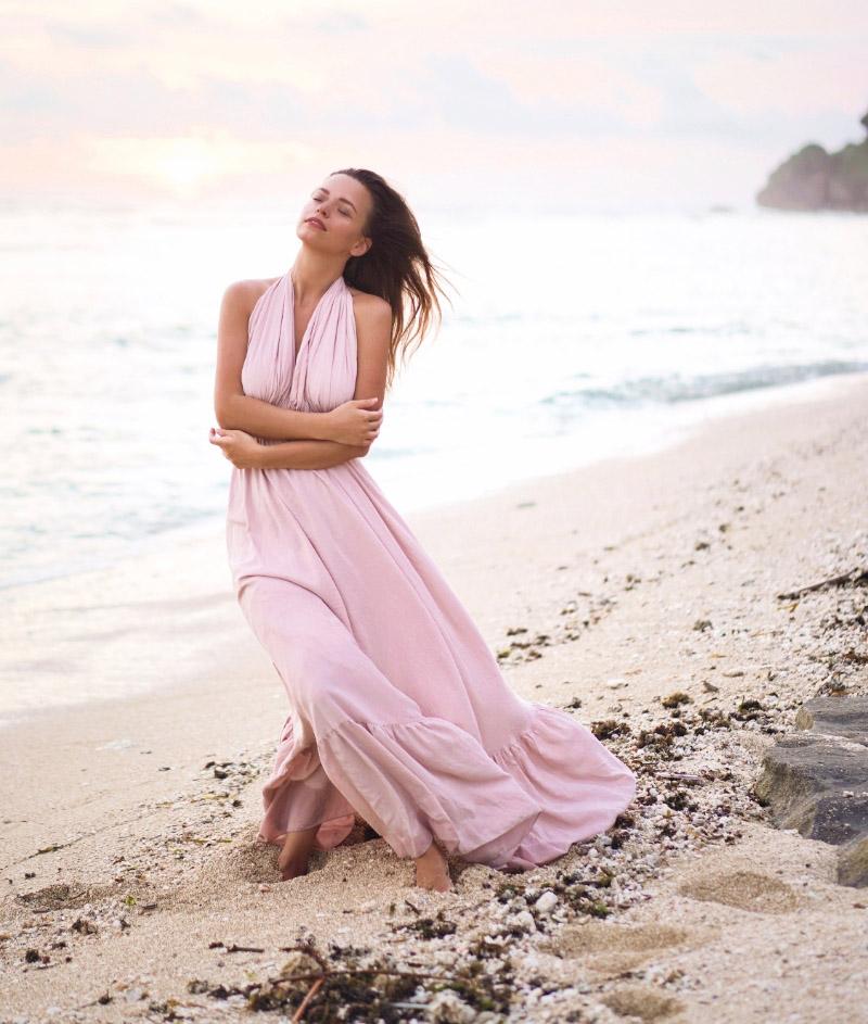 Платье «Mother Nature» — Мать природа [пудровое]
