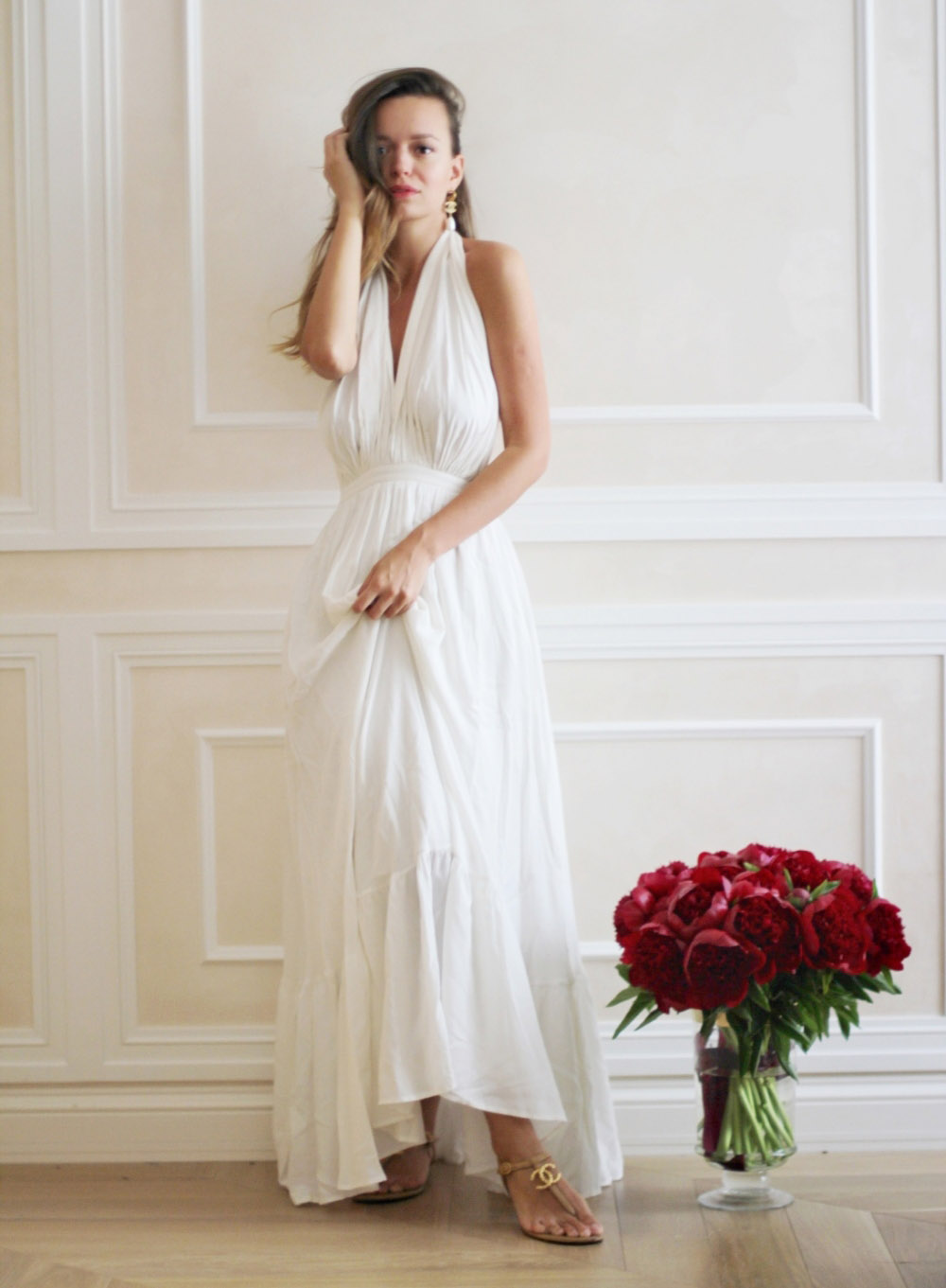 Платье «Mother Nature» — Мать природа [белое]