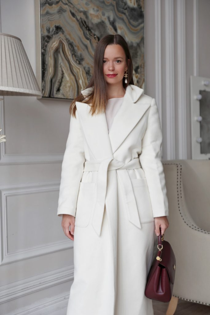 Зимнее пальто «Dream» — Мечта [Белое]